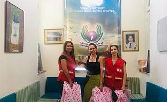 KK Türk Kızılay'ından anlamlı bağış...