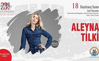 Aleyna Tilki Gazimağusa'ya geliyor...