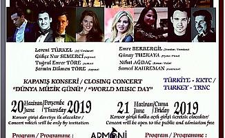 Bellapais Müzik Festivali'nin kapanış konseri cuma günü