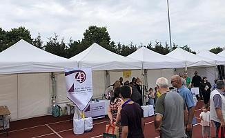 Müteahhitleri Birliği Londra'daki festivale katıldı...
