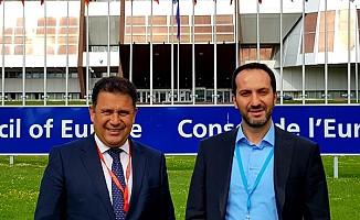 Saner ve Candan, AKPA genel kurul toplantısına katıldı
