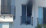 Ortaköy'de yangın...