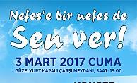 Güzelyurt Belediyesi de Nefes için kampanya başlattı
