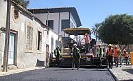 Ltb asfaltlama çalışmalarına başladı
