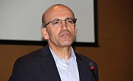 Türkiye Başbakan Yardımcısı Şimşek, KKTC'ye geldi.