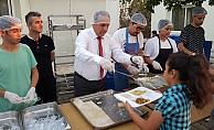 DP Lefkoşa İlçesi iftar yemeği düzenledi.
