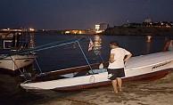 Bakan Berova#039;nın teknesi battı