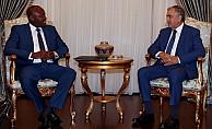 Akıncı Uganda'nın Ankara Büyükelçisi'ni kabul etti