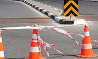 Bostancı-Akçay anayolu trafiğe kapatıldı
