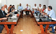 Geçici ve Özel Komite toplandı
