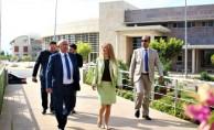 Özyiğit, Orta Doğu Teknik Üniversitesi Kuzey Kıbrıs Kampusu'nü ziyaret etti