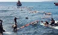 Akdeniz'de 17 göçmen ölü ya da kayıp