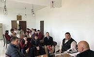 Güzelyurt Meslek Lisesi öğrencileri Mehmetçik Belediyesi'ni ziyaret etti