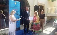 """""""2. Uluslararası Basma Fistan Giyerim'' çalıştayının sergisi açıldı"""
