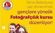 Girne Belediyesi'nden fotoğrafçılık kursu