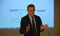 Sağlık personeline uyku apnesi eğitimi verildi