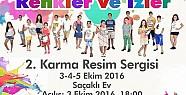 """RENKLER VE İZLER"" 2. KARMA RESİM..."