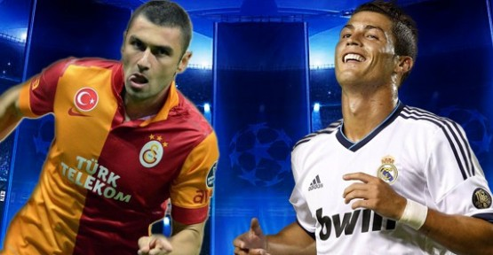 UEFA'nın Ronaldo ve Burak karşılaştırması!