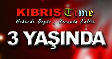 KIBRIS TIME 3 YAŞINDA
