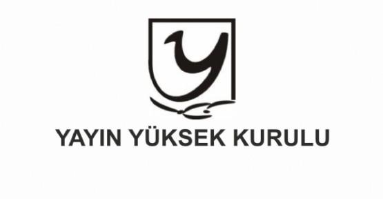 YYK'DAN, ART TV/FM İLE AKDENİZ TV/FM VE KIBRISLI TV/FM'E SÜRE