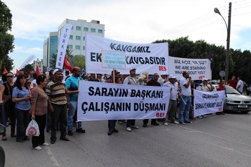 Toplumsal Varoluş Hareketi Başbakanlık Önü Eylem
