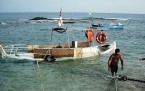 Tekneler Alabora Oldu