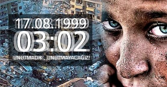 17 AĞUSTOS 1999 MARMARA DEPREMİNİN YILDÖNÜMÜ
