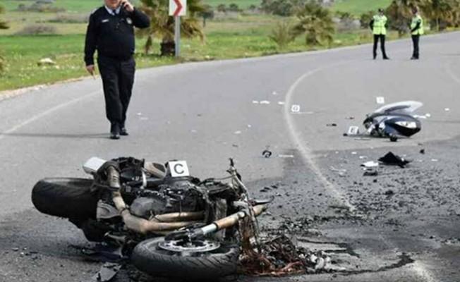 Çayırova- Bafra yolunda kaza
