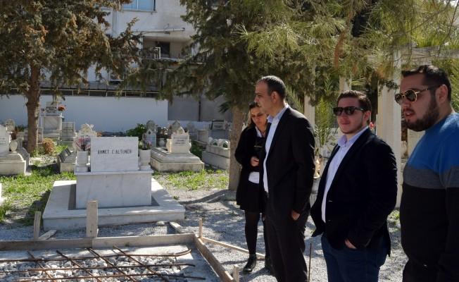 Hamitköy mezarlığı iyleştirme projesinde son aşamaya gelindi