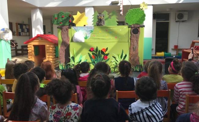 """""""Temizliğin Gücü"""" oyunu SOS Anaokulu'nda sahnelendi"""