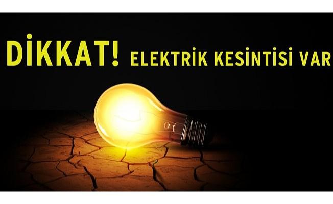 Tuzla bölgesinde elektrik kesintisi...