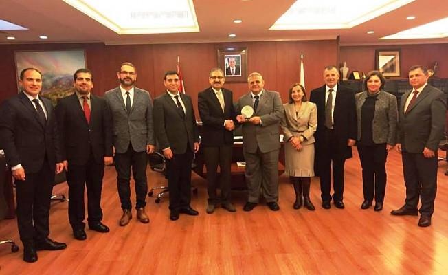 DAÜ Rektörlük  Heyeti Lübnan'da  temaslarda bulundu