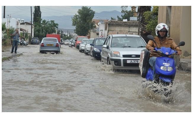 En çok yağış Mallıdağ'a