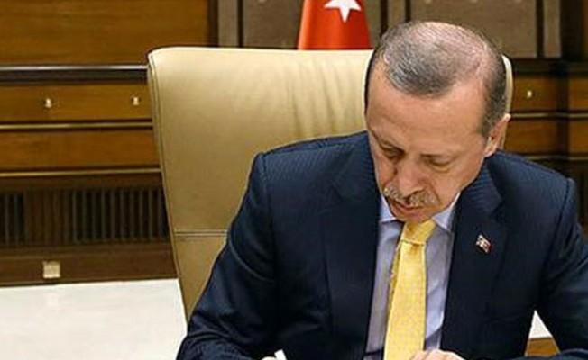 Erdoğan onayladı...