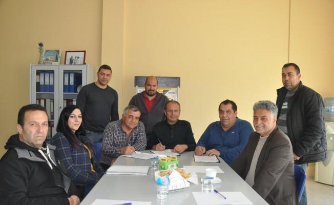 Gazeteciler Birliği kompleksi için imzalar atıldı