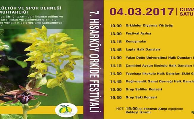 Hisarköy Orkide Festivali pazar günü