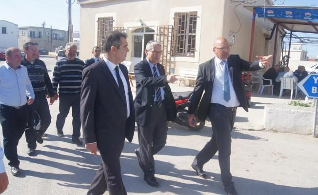 Kanbay, Mehmetçik Belediyesi'ni ziyaret etti...