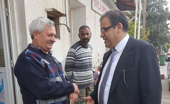 Sucuoğlu, Yayla köyünü ziyaret etti