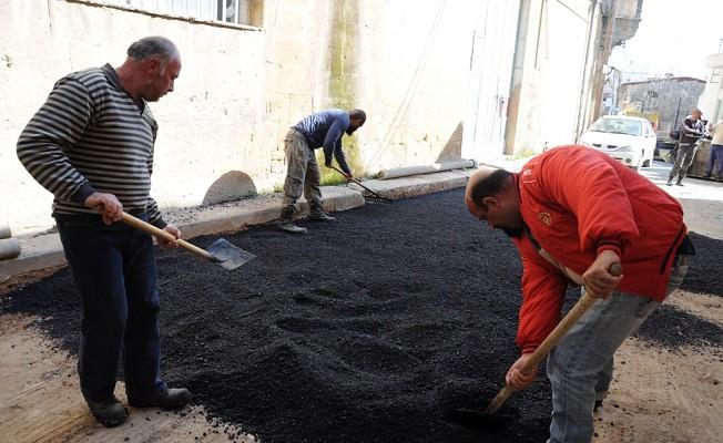 Surlariçi bölgesinde asfalt çalışması yapılacak.