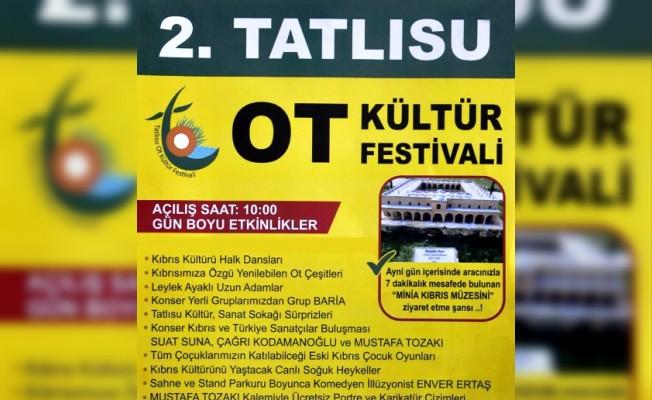 Tatlısu Ot Kültür Festivali'nin ikincisi pazar günü