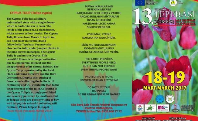 Tepebaşı Lale Festivali bu hafta sonu yapılıyor