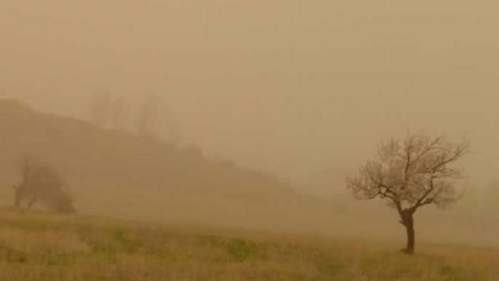 Tozlu hava geliyor...