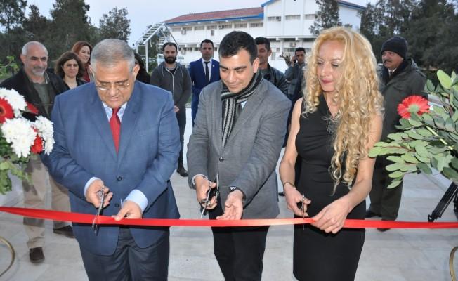 Türkan Navruz'un sergisi açıldı