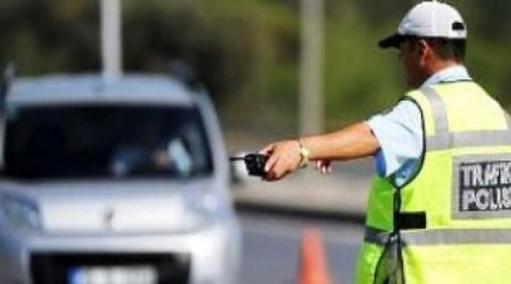 1 Haftada 820 sürücü rapor edildi