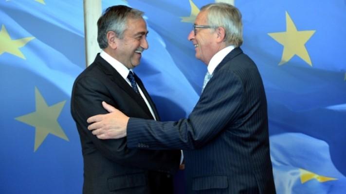 Akıncı bugün Juncker ile görüşecek