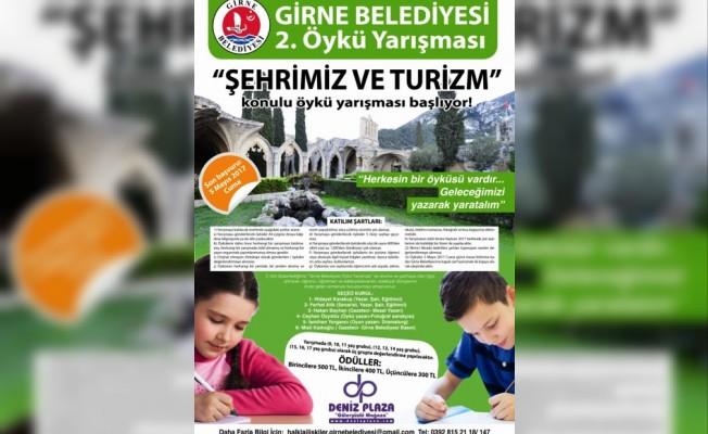 Girne belediyesi öykü yarışması düzenliyor