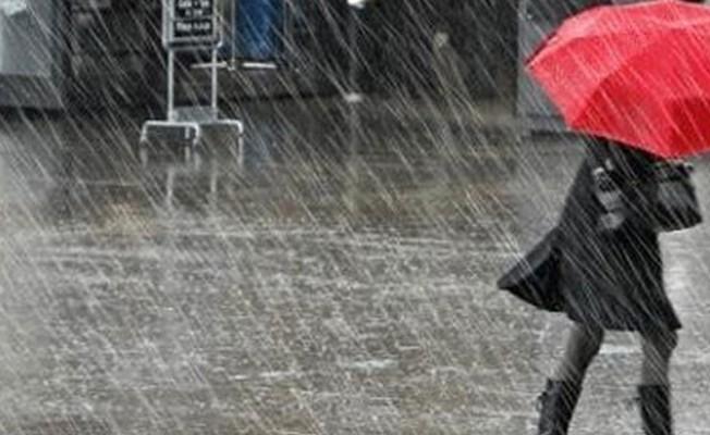 Hava cumartesi gününe kadar yağmurlu