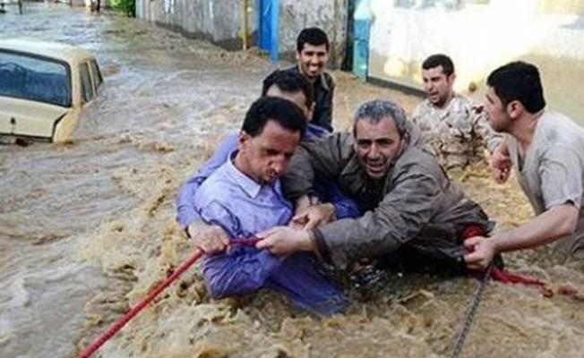 İran'da sel felaketi...