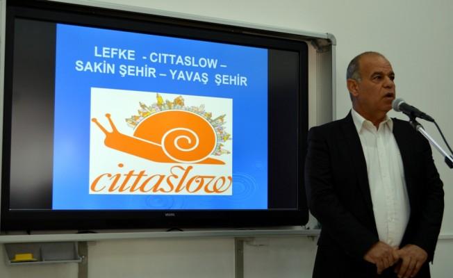 Lefke Gazi Lisesi'nde Cittaslow eğitimi