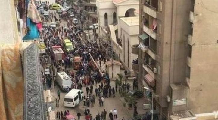 Mısır'da kilisede patlama 21 ölü...